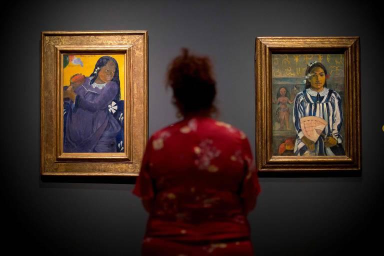 Veja imagens da exibição de Paul Gauguin na National Gallery de Londres