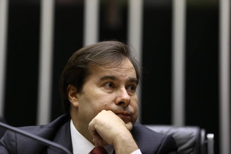 O presidente da Câmara dos Deputados, deputado Rodrigo Maia (DEM-RJ)