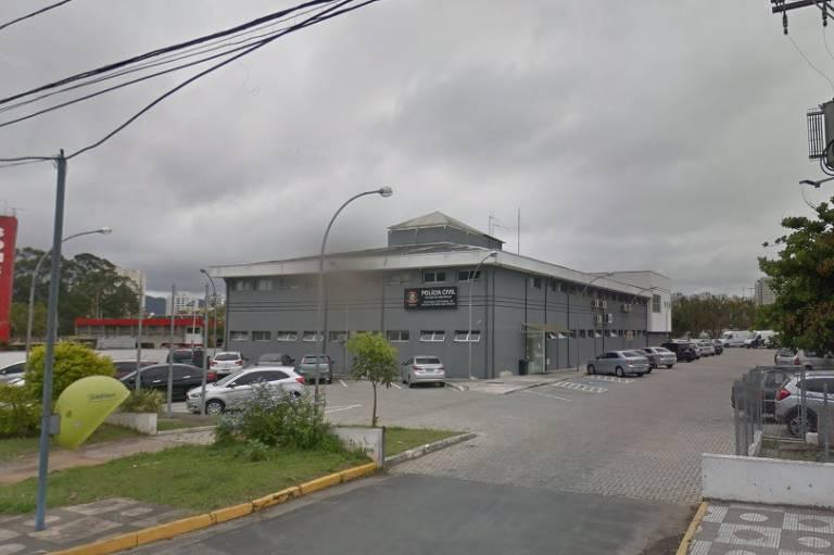Sede da delegacia seccional de Mogi das Cruzes, na Grande São Paulo