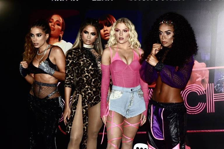Anitta, Lexa, Luísa Sonza e MC Rebecca lançam música em São Paulo