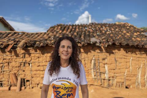 INAJA, PE - 19 AGOSTO: Alcione Albanesi, empreendedora social, diretora executiva da Associação Amigos do Bem, posa para foto em Inaja, Pernambuco, em 19 de agosto de 2019. (Foto: Renato Stockler)******PREMIO EMPREENDEDOR SOCIAL 2019******