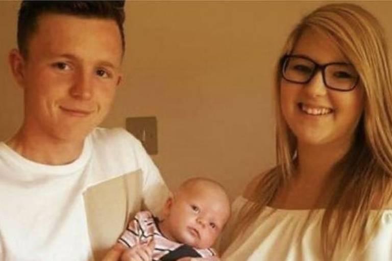 Jamie Heavens, um carpinteiro de Bournemouth, tirou a sorte grande com uma raspadinha da National Lottery