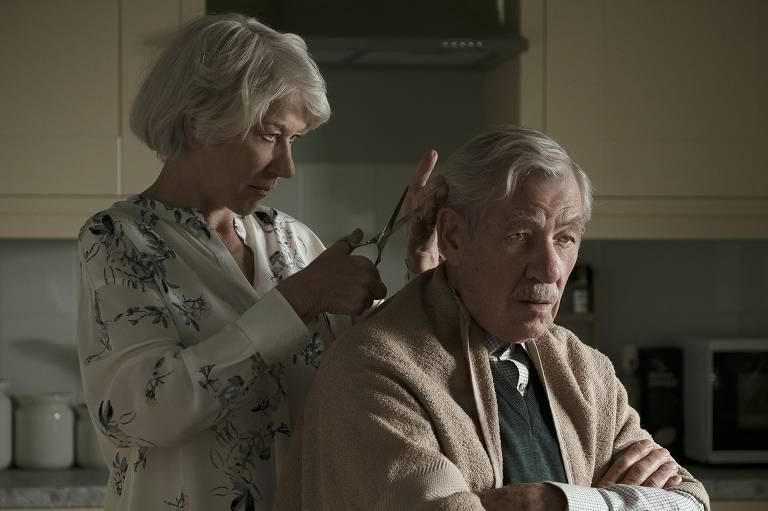 Helen Mirren e Ian McKellen em 'A Grande Mentira'