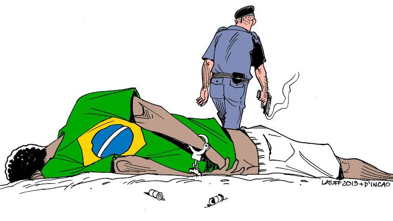Charge do cartunista Carlos Latuff