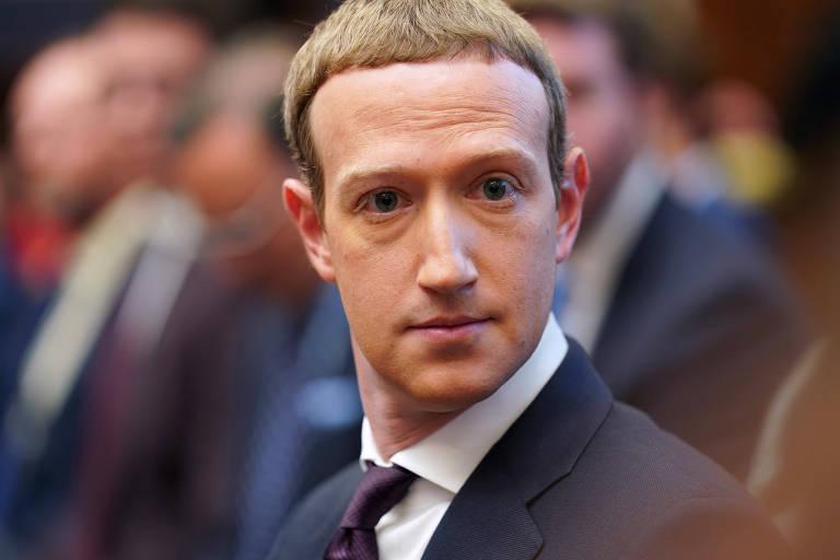 O presidente-executivo do Facebook, Mark Zuckerberg