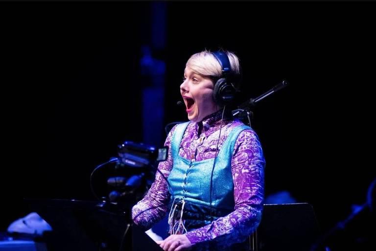 A artista britânica Laura Bowler é uma das atrações do Festival Música Estranha