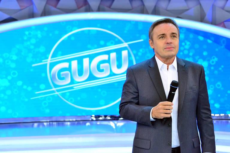 Imagens do apresentador Gugu Liberato