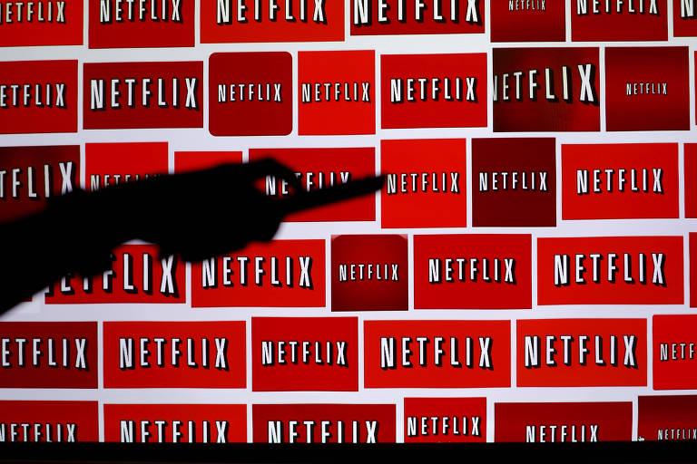 Logo da Netflix exibida em Encinitas, na Califórnia (EUA)