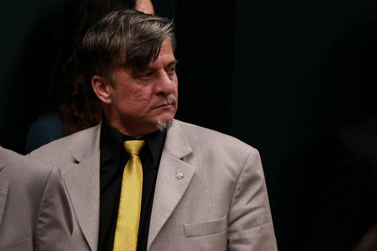 O deputado Emerson Petriv, conhecido como Boca Aberta (PROS-PR)