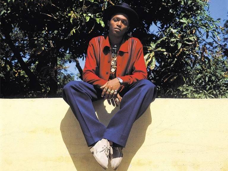 O cantor jamaicano Triston Palma