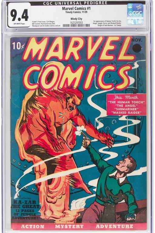 Marvel Comics No. 1 (1939)