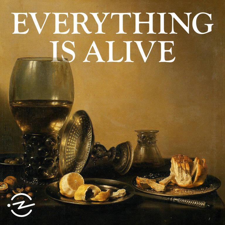 Ilustração do podcast 'Everything Is Alive'