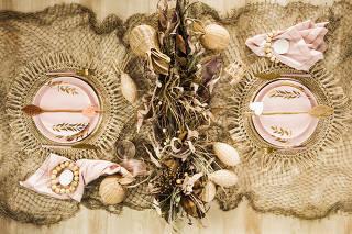 Especial fim de ano. Variacoes de decoracao de mesas para festas de fim de ano. Producao Luana Prade