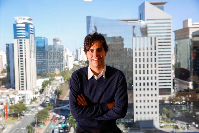 Guilherme Benchimol, um dos fundadores da XP Investimentos, na sede da corretora em São Paulo