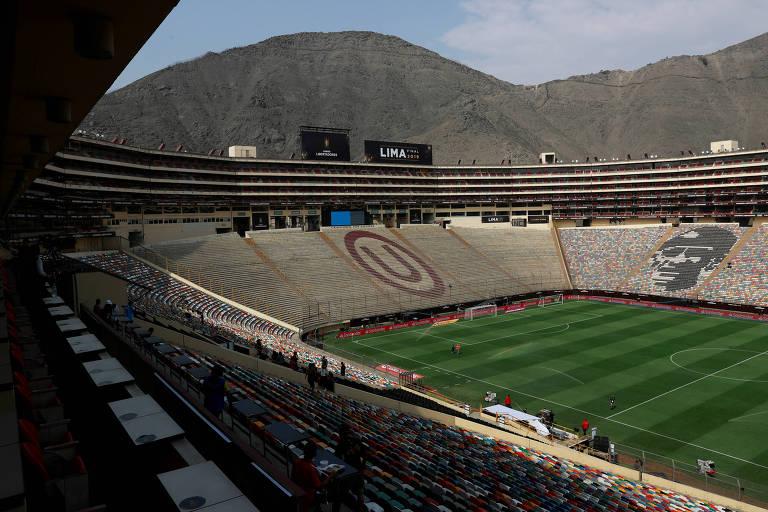 Estádio Monumental, em Lima, receberá a primeira final única da história da Libertadores