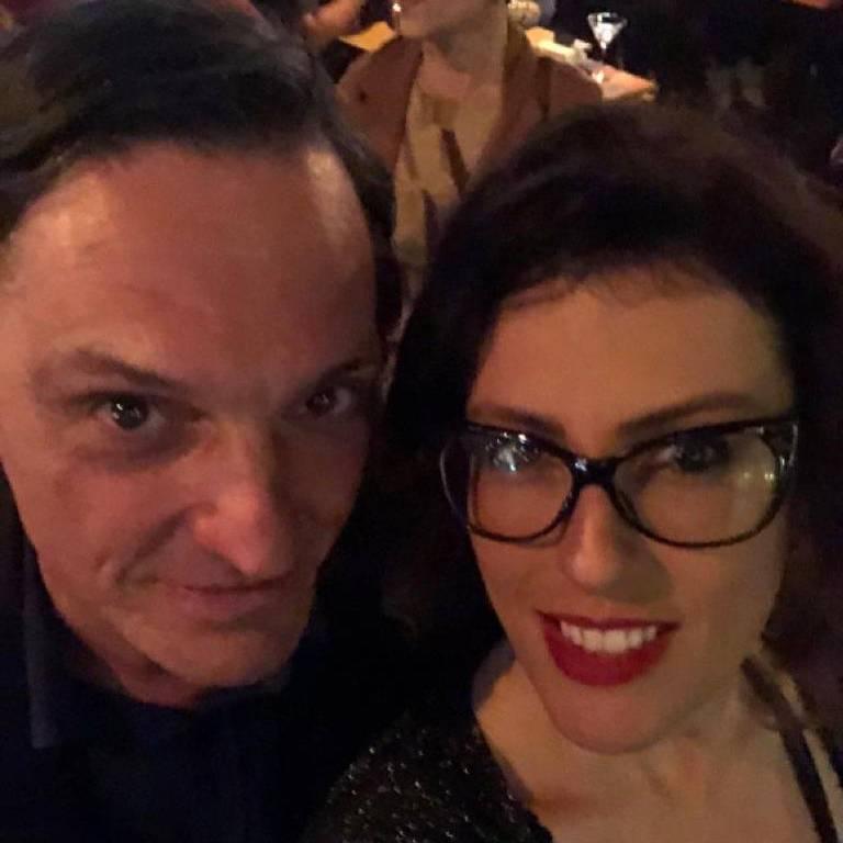Paulo Miklos e Renata Galvão