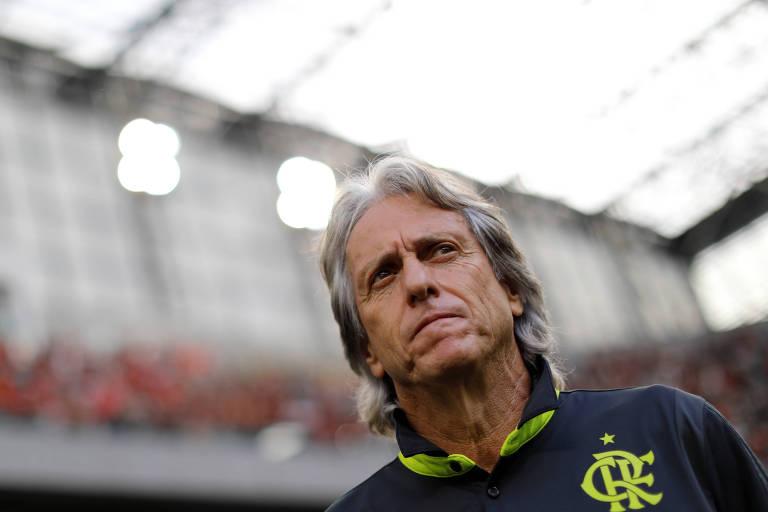Em pouco mais de um ano no Flamengo, Jorge Jesus levou o clube à conquista de cinco títulos