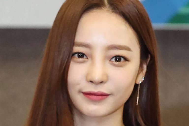 Goo Hara, estrela de k-pop sul-coreana