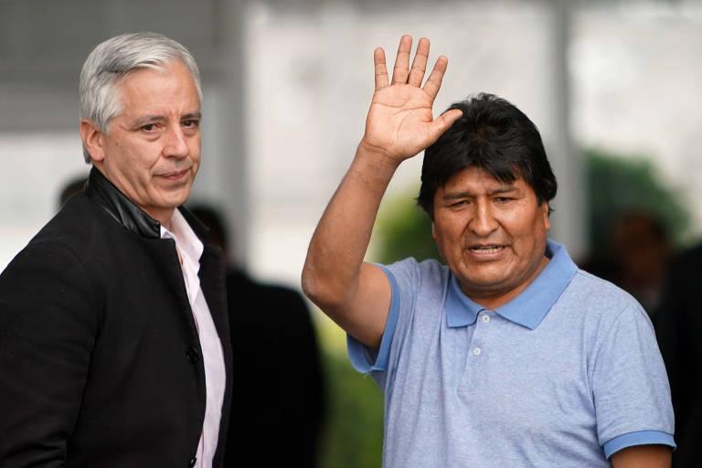 Ex-vice da Bolívia diz que acusações contra Evo e Añez são 'completamente diferentes'
