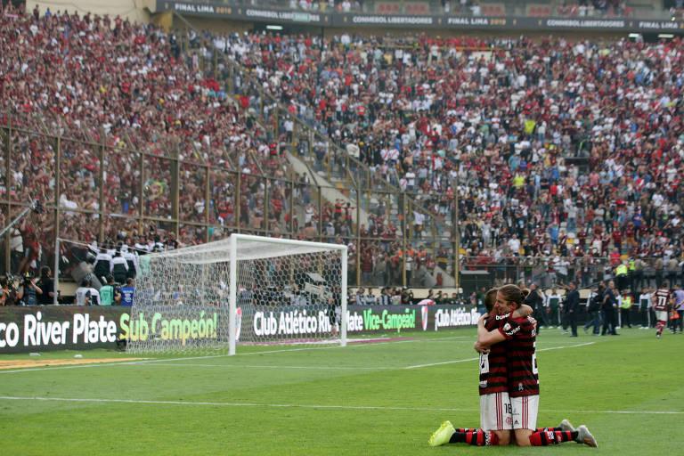Estádio Monumental foi palco do título do Flamengo neste sábado (23)