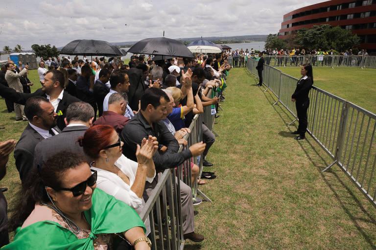 Convenção de lançamento do partido Aliança pelo Brasil