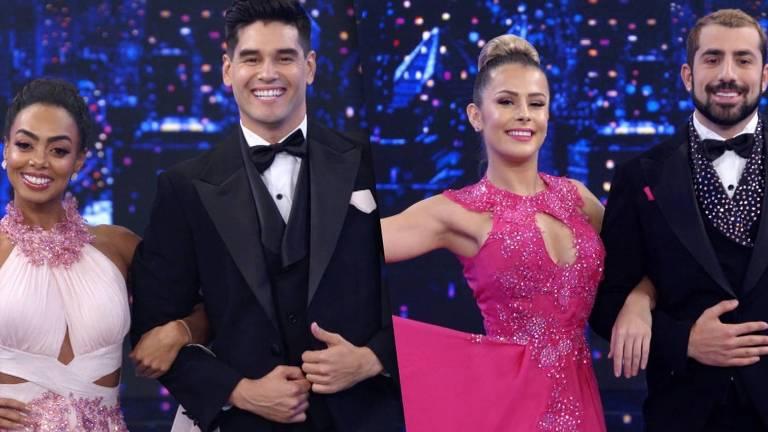 Dandara Mariana e Kaysar Dadour lideram o ranking do Dança dos Famosos