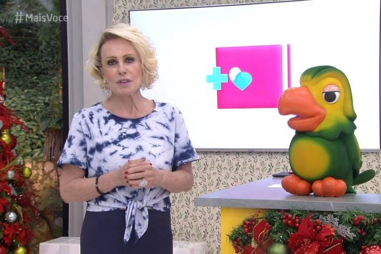Ana Maria Braga faz homenagem a Gugu Liberato