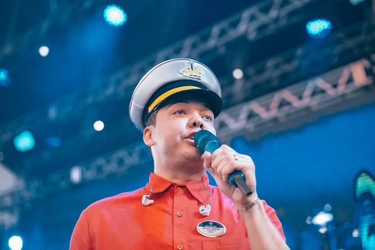 Wesley Safadão no cruzeiro WS on Board