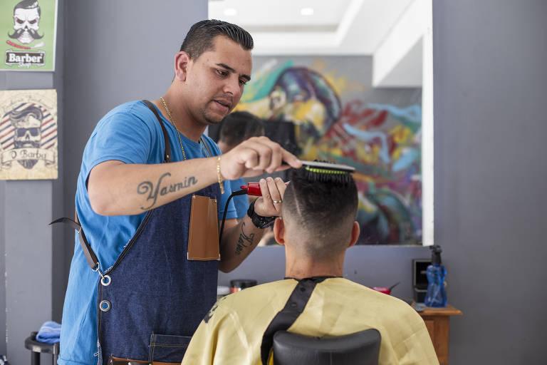 O cabeleireiro Sidney Sylvestre Vieira, 31, que ficou mais de um ano preso sem provas em SP