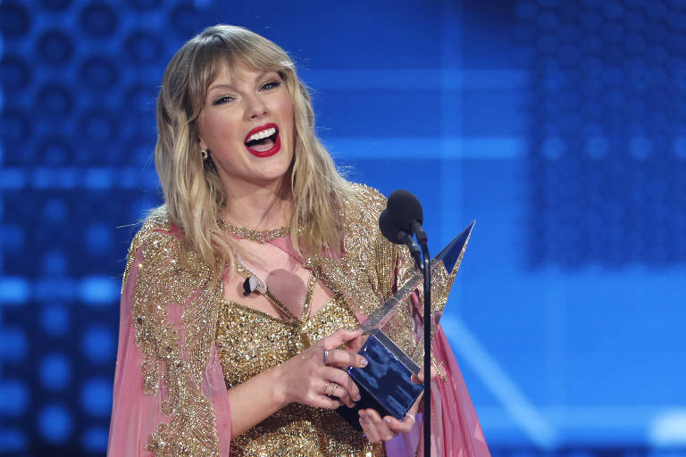 Taylor Swift no 2019 American Music Awards