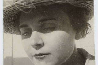 A photo provided by Yale University shows the poet Elizabeth Bishop. (Louise Crane and Victoria Kent papers, Beinecke Rare Book and Manuscript Library, Yale University via The New York T