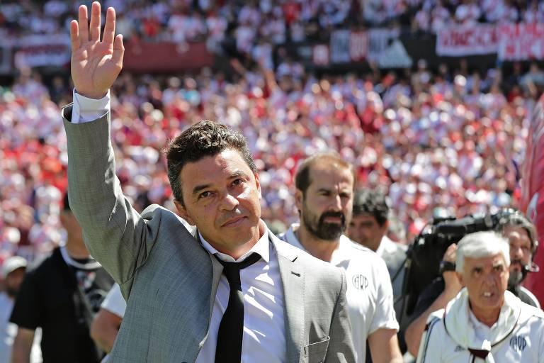 Maior treinador da história do River Plate, Marcelo Gallardo resolveria os problemas de qualquer time brasileiro