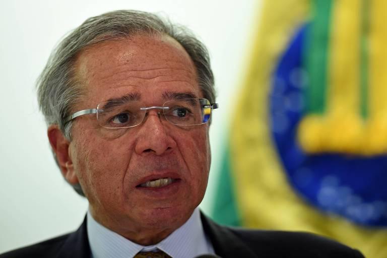 Ministro da Economia, Paulo Guedes, em Washington
