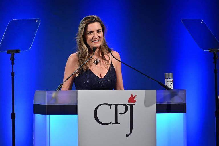 Patrícia Campos Mello, repórter da Folha