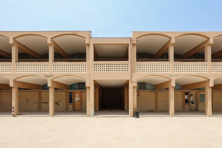 Veja fotos da trienal de arquitetura de Charjah, nos Emirados Árabes Unidos