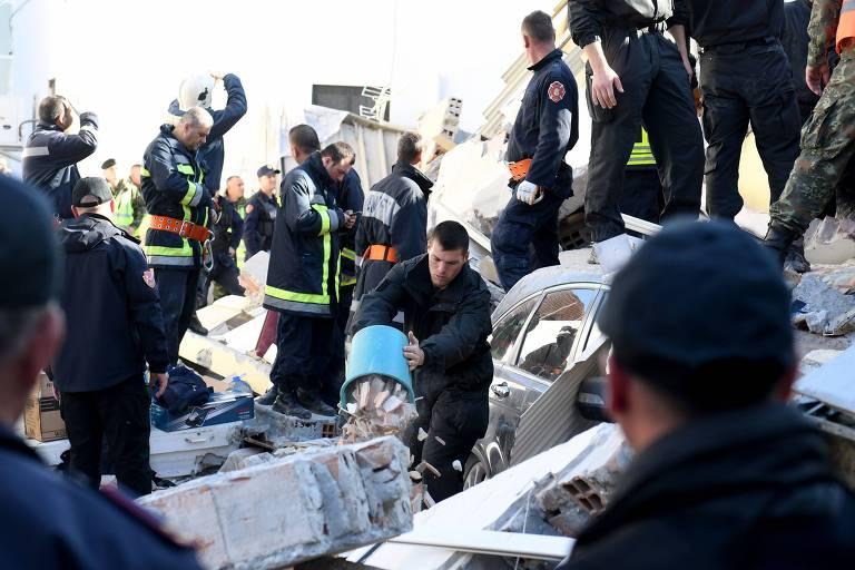 Terremoto atinge a Albânia
