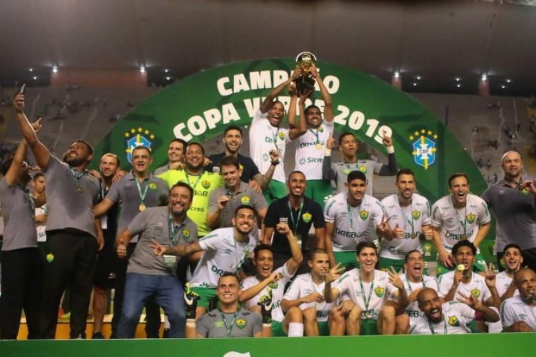 Cuiabá se sagrou campeão da Copa Verde diante do Paysandu, no Mangueirão, em Belém