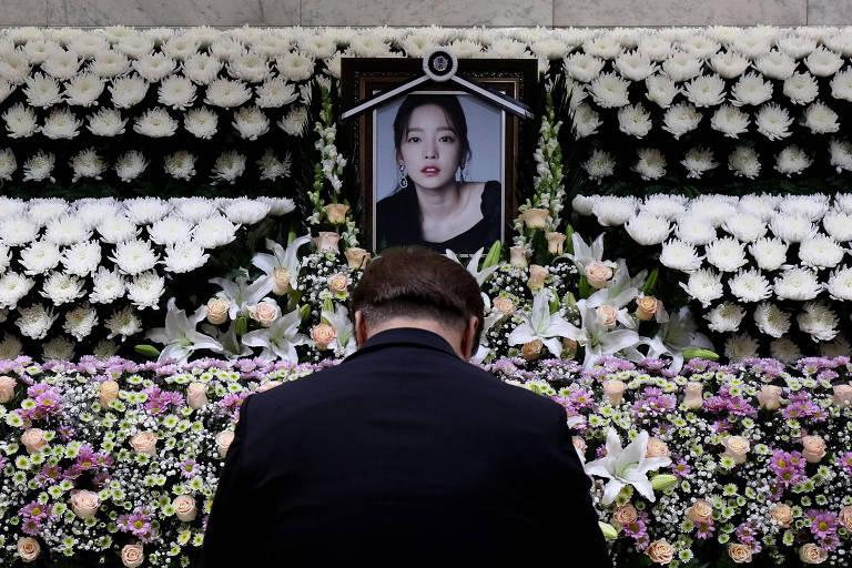 Tributo à Goo Hara em Seoul