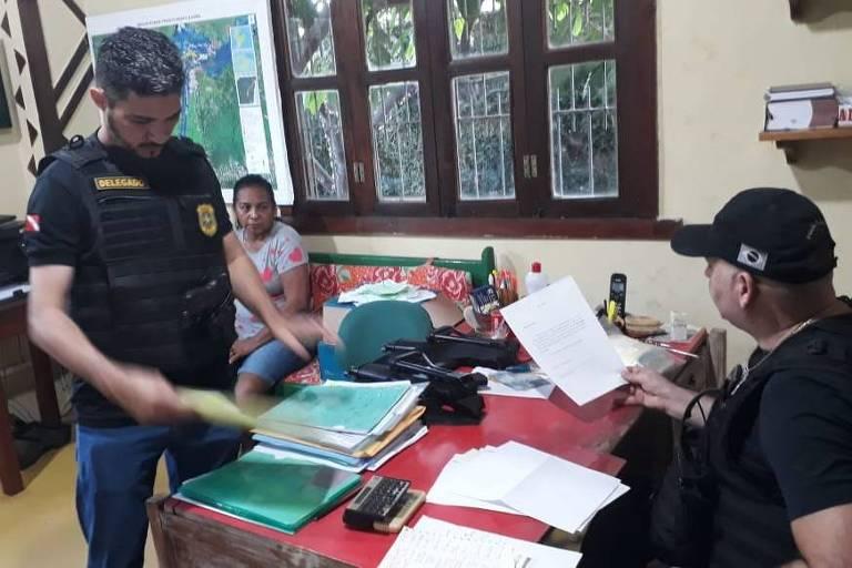Operação da Polícia Civil do Pará prende 4 brigadistas em Alter do Chão