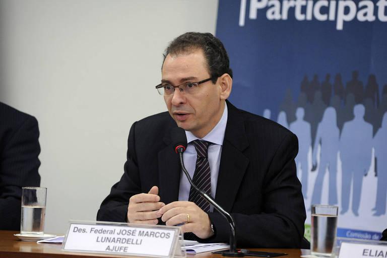 O desembargador José Marcos Lunardelli, da Justiça Federal em SP