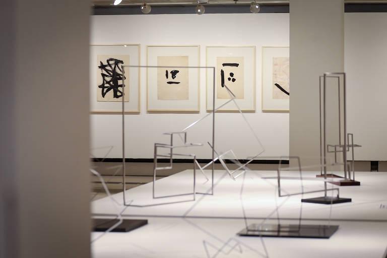 Conhecido pelas esculturas monumentais, Franz Weissmann tem 'lado B' explorado em mostra do Itaú Cultural