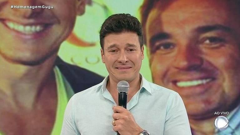 Rodrigo Faro lamenta a morte do Gugu