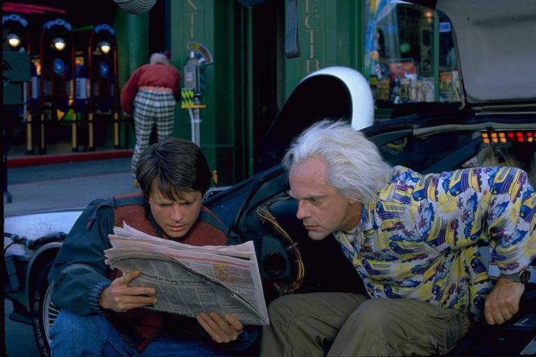 """Cena do filme """"De Volta Para o Futuro 2"""""""