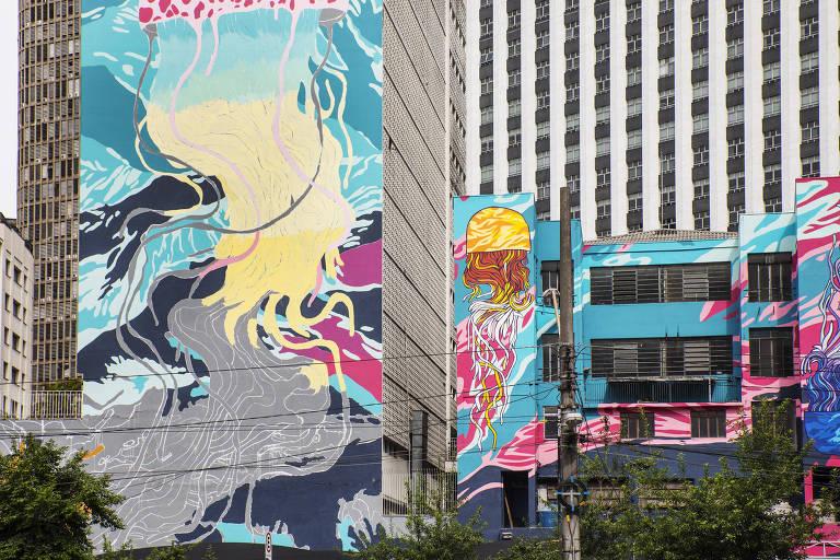 Justiça proíbe pintura de prédio que faria parte do Aquário Urbano