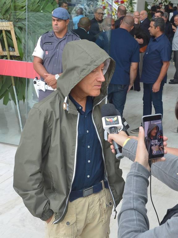 Velório do apresentador Gugu Liberato