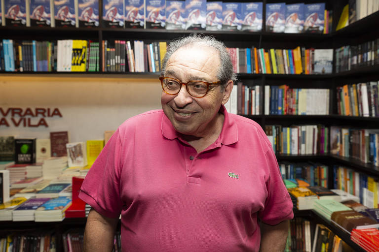Lançamento do livro 'Metrópole à Beira-Mar', de Ruy Castro