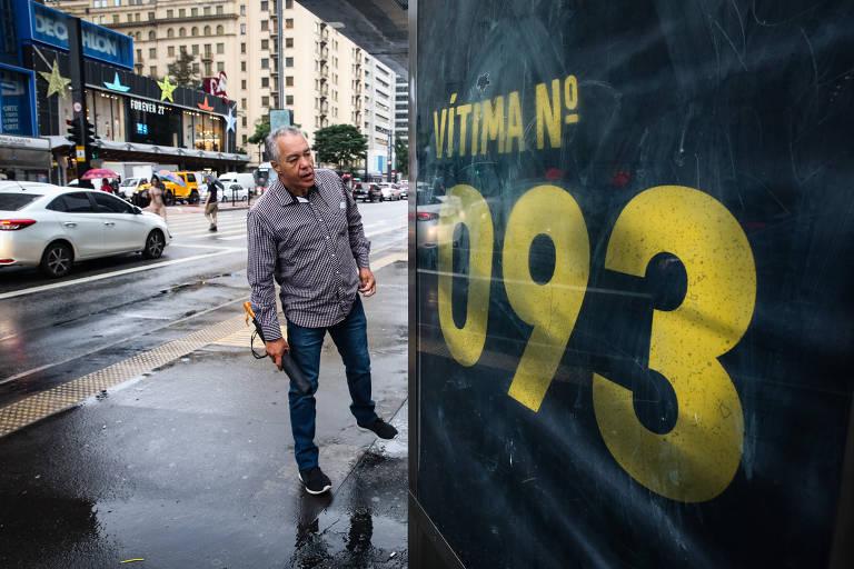 Campanha lembra 849 mortes anuais no trânsito paulistano