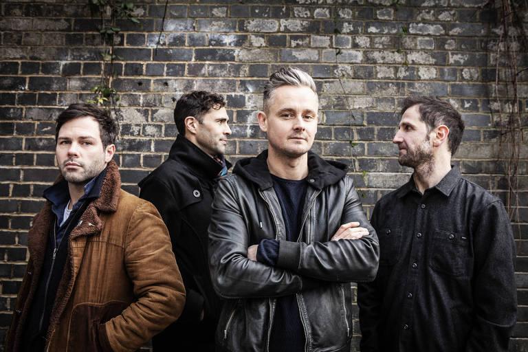 A banda de rock inglesa Keane