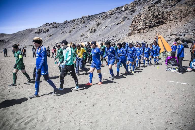 ONG bate recordes para chamar a atenção ao futebol feminino