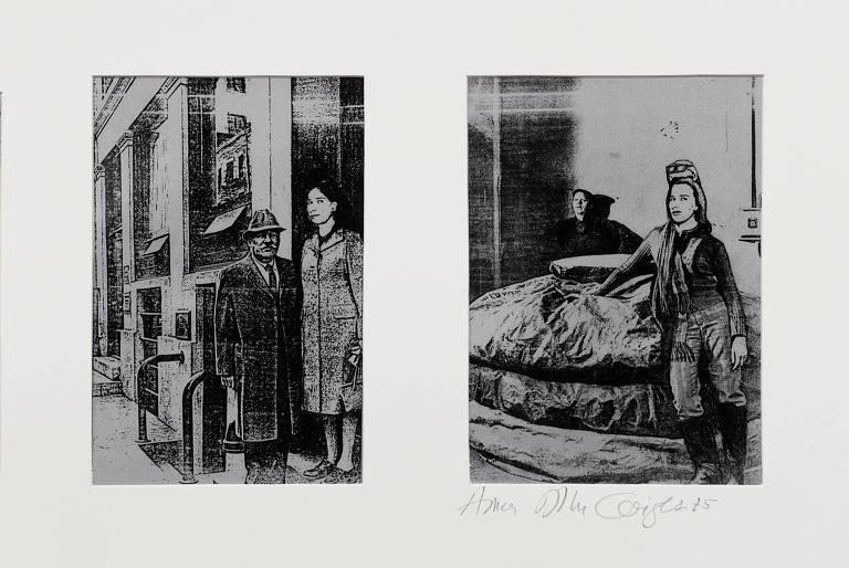 'Diário de um Artista Brasileiro', obra de 1975 de Anna Bella Geiger exposta na mostra do artista no Masp